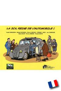 Citro n comics buch motor buchhandlung garage 2cv for Garage sireine auto bourg la reine