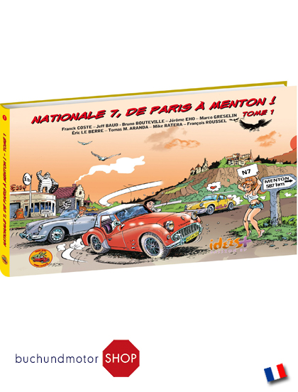 Comics buch motor buchhandlung garage 2cv shop for Garage auto menton